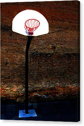 Basketball Canvas Print by Lane Erickson