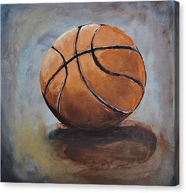 Basketball  Canvas Print by Shannon Lee