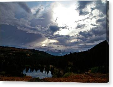 Basking In Twilight Canvas Print by Jeremy Rhoades