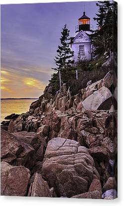 Bass Head Lighthouse Canvas Print by Thomas Schoeller