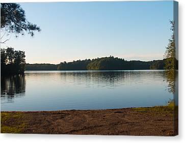 Bass Lake Canvas Print by Torkomian Photography