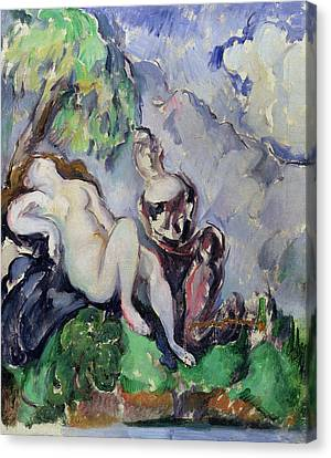 Bathsheba Canvas Print by Paul Cezanne