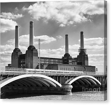 Battersea Power Station London Canvas Print by Philip Pound