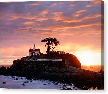 Battery Point 2 Canvas Print by Leland D Howard