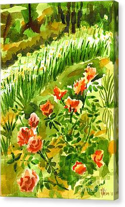 Battle Array Canvas Print by Kip DeVore