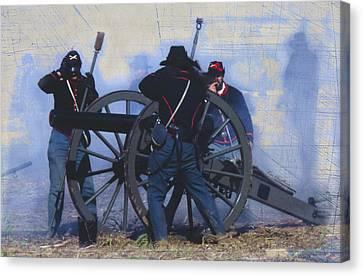 Battle Of Franklin - 1 Canvas Print by Kae Cheatham