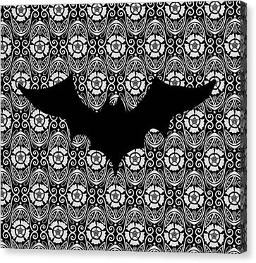 Batty Canvas Print by Natalie Rogers