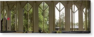 Baughman Windows Canvas Print by William Ragan