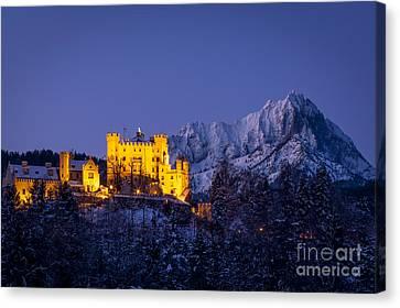 Bavarian Castle Canvas Print by Brian Jannsen