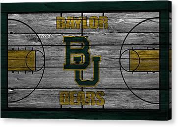 Baylor Bears Canvas Print by Joe Hamilton