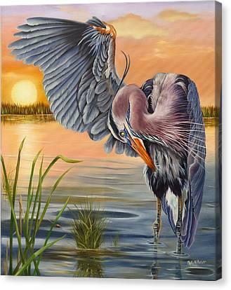 Bayou Blues Canvas Print by Phyllis Beiser