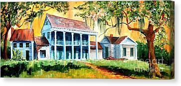 Bayou Country Canvas Print by Diane Millsap