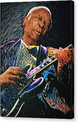 B.b. King Canvas Print by Taylan Soyturk