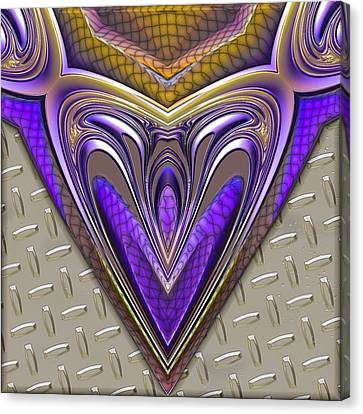 Be Steel My Heart Canvas Print by Wendy J St Christopher