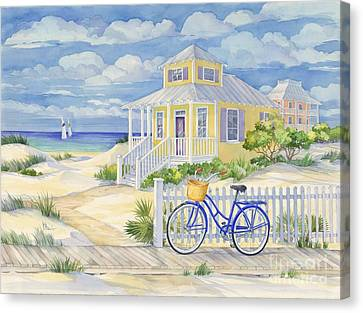 Beach Cruiser Canvas Print by Paul Brent