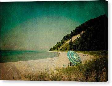 Beach Day Canvas Print by Joy StClaire