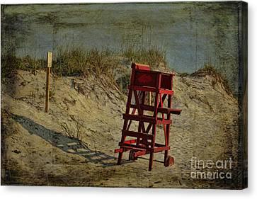 Beach Dune Canvas Print by Deborah Benoit