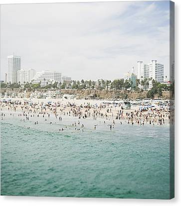 Beach Life  Canvas Print by Bree Madden