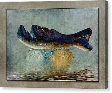 Beached Whale II Canvas Print by WB Johnston