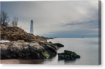 Beacons Of Yesteryear - Full Color Canvas Print by Randy Scherkenbach
