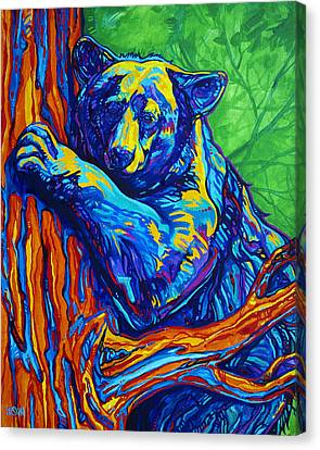 Bear Hug Canvas Print by Derrick Higgins