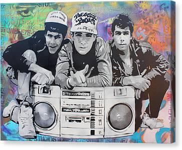 Beastie Boys Canvas Print by Josh Cardinali