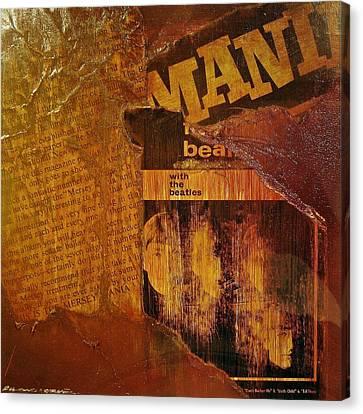 Beatlemania Canvas Print by Roland Byrne