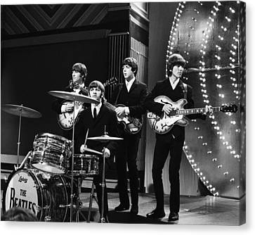 Beatles 1966 Canvas Print by Chris Walter