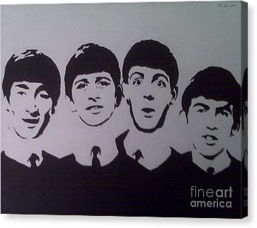 Beatles Canvas Print by Tamir Barkan