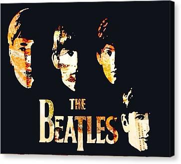 Beatles Canvas Print by Trisha Buchanan