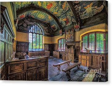 Beautiful 17th Century Chapel Canvas Print by Adrian Evans