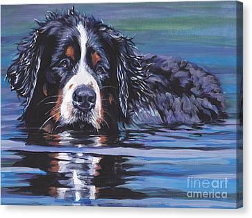 Beautiful Berner Canvas Print by Lee Ann Shepard