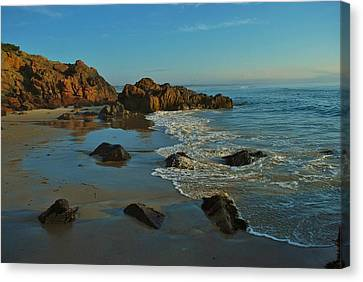 Beautiful Morning Canvas Print by Joy Bradley