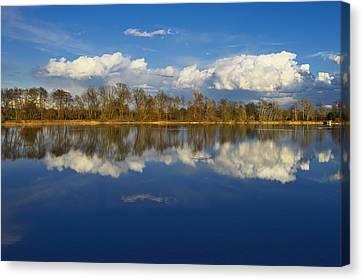 Beautiful Reflection Canvas Print by Ivan Slosar
