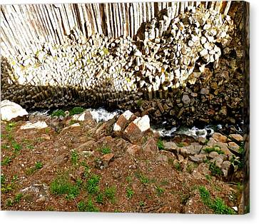 Beautiful Strange Rock Formations Canvas Print by Joe Wyman