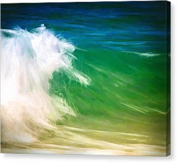Beautiful Wave Canvas Print by Vicki Jauron