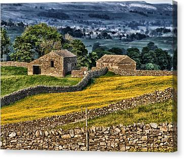 Beauty Of Yorkshire Canvas Print by Mountain Dreams
