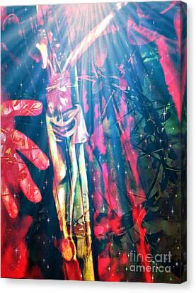 Because He Lives Canvas Print by Fania Simon