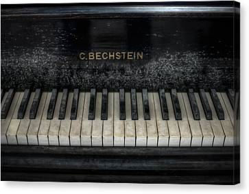 Bechstein Keys Canvas Print by Nathan Wright