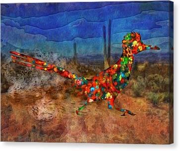 Beep Beep Canvas Print by Jack Zulli