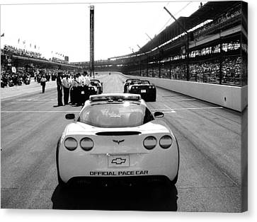 Before The Start Canvas Print by Jeff Taylor