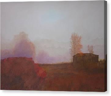 Before The Sun Breaks  Canvas Print by Harvey Rogosin
