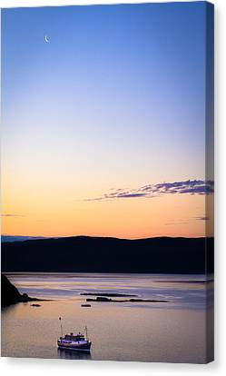 Before The Sunrise Canvas Print by Yuri Fineart