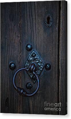 Behind Locked Doors Canvas Print by Iris Richardson