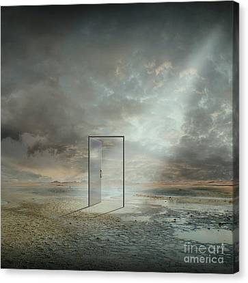 Behind The Reality Canvas Print by Franziskus Pfleghart