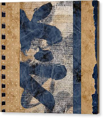 Behind The Screen Canvas Print by Carol Leigh
