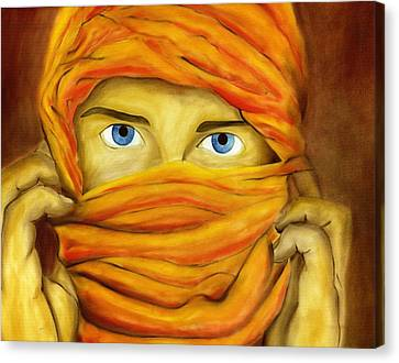 Behind The Veil Canvas Print by Hakon Soreide