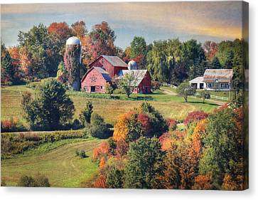 Behold The Beauty Canvas Print by Lori Deiter