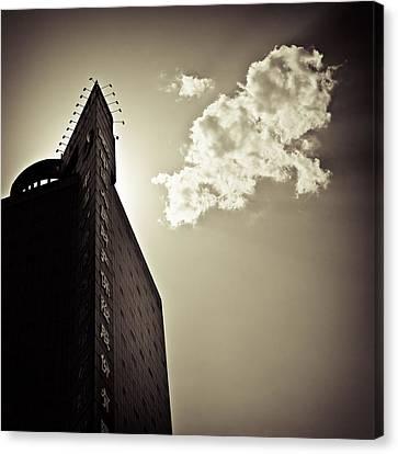 Beijing Cloud Canvas Print by Dave Bowman