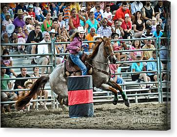 Being Clocked Canvas Print by Gary Keesler